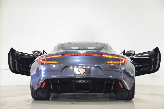 Floyd Mayweather Aston Martin One-77 rear