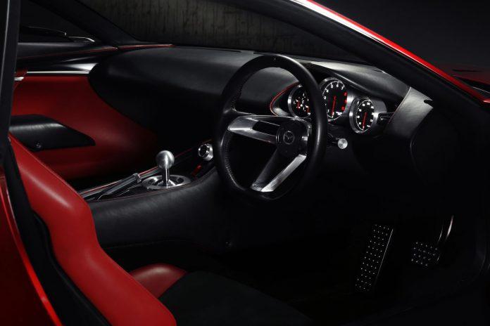 Mazda RX-Vision interior