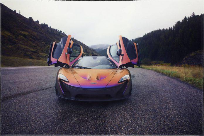 McLaren  P1 MSO by CJ Wilson