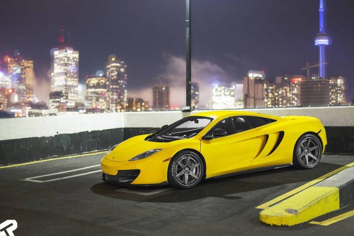 Volcano Yellow McLaren 12C