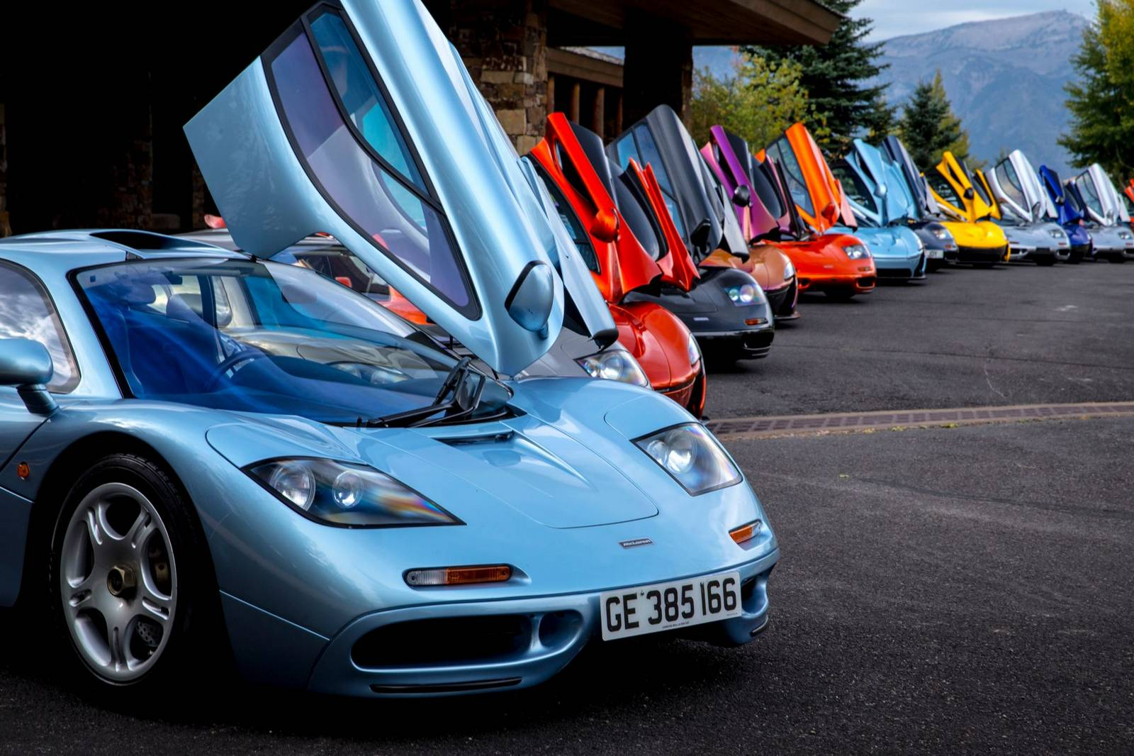 one of a kind mclaren f1 and p1 tour in the us - gtspirit