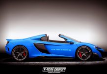 McLaren 675LT Spider in the works