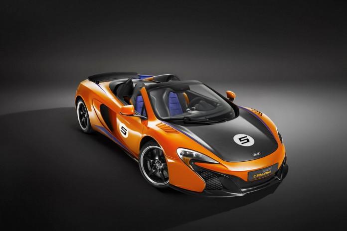 McLaren 650S Can-Am Papaya Spark