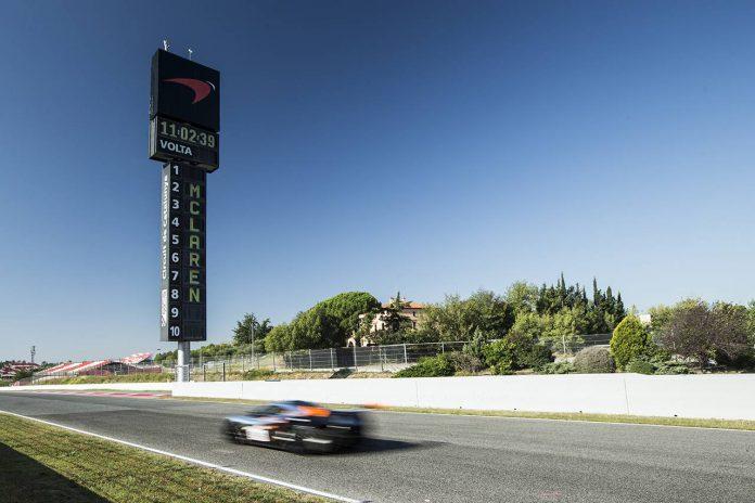 McLaren P1 GTR Barcelona