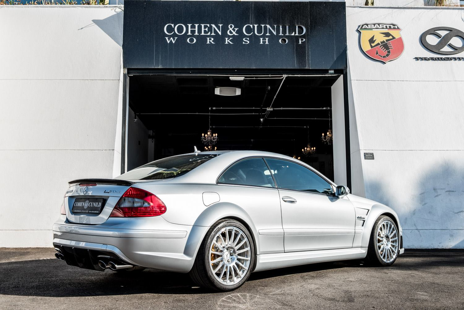 Mercedes benz clk63 amg black series for sale in spain for Mercedes benz clk black series