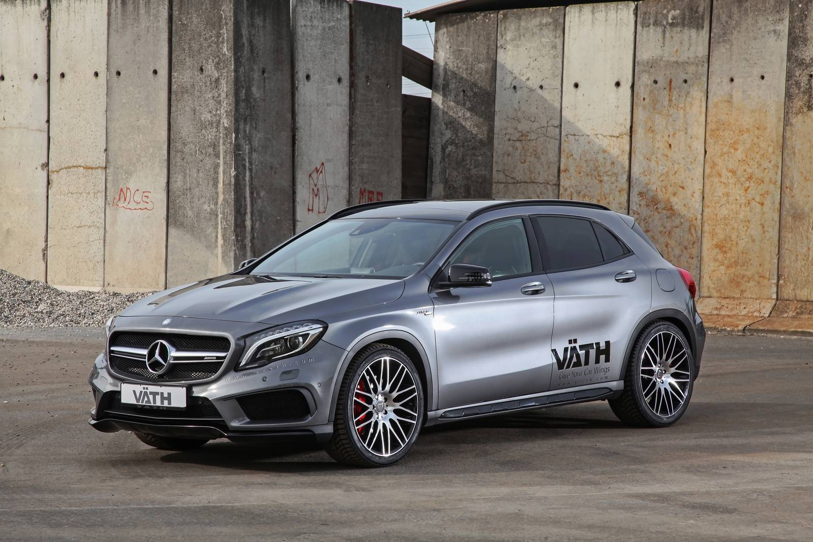 official vath mercedes benz gla45 amg gtspirit. Black Bedroom Furniture Sets. Home Design Ideas