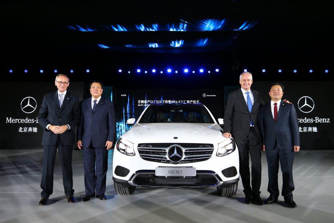 Mercedes-Benz GLC production