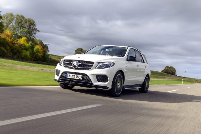 Mercedes-Benz GLE450 AMG front