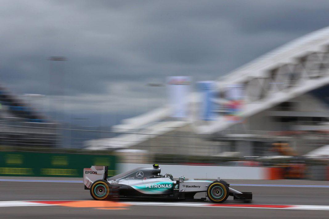 Mercedes Russian GP 2015