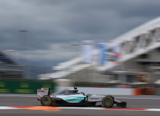 Mercedes Russian GP 2015