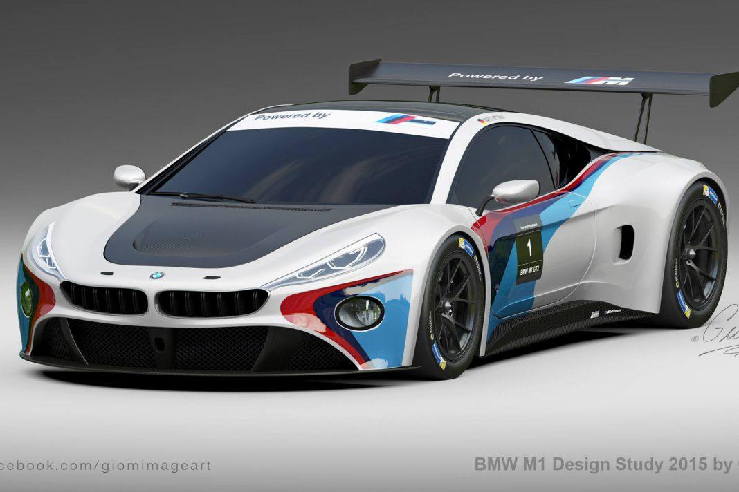 Modern BMW M1 front