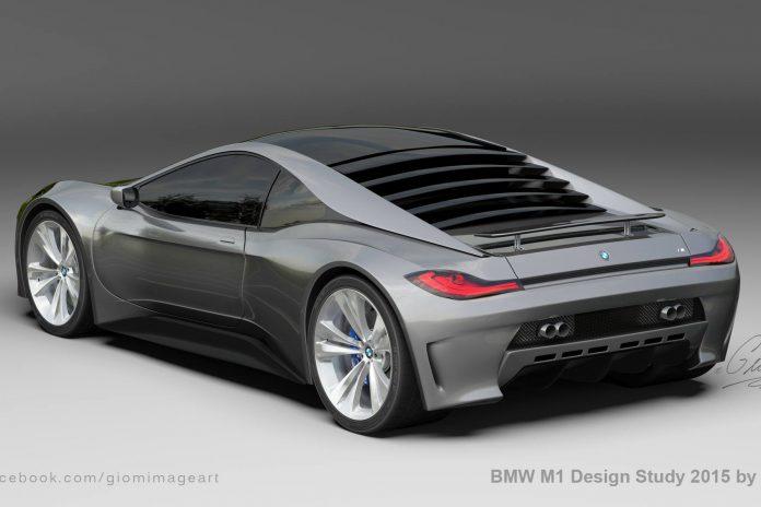 Modern BMW M1 rear
