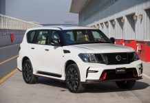 Nissan Patrol Nismo front