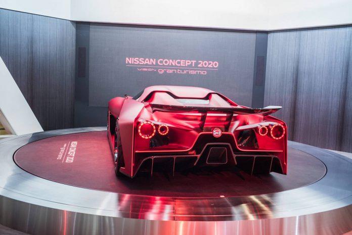 Nissan Vision GT 2020 Concept  rear
