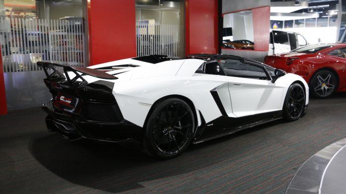 Novitec Lamborghini Aventador for sale rear