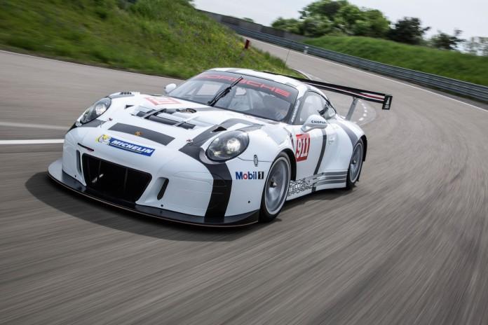 Porsche 911 GT3 R front