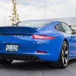 Blue Porsche 911 GTS Club Coupe