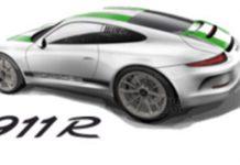 Porsche 911 R image surfaces