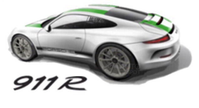 Porsche 911 R image surfaces