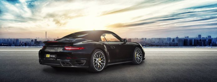 Tuned Porsche 911 Turbo S