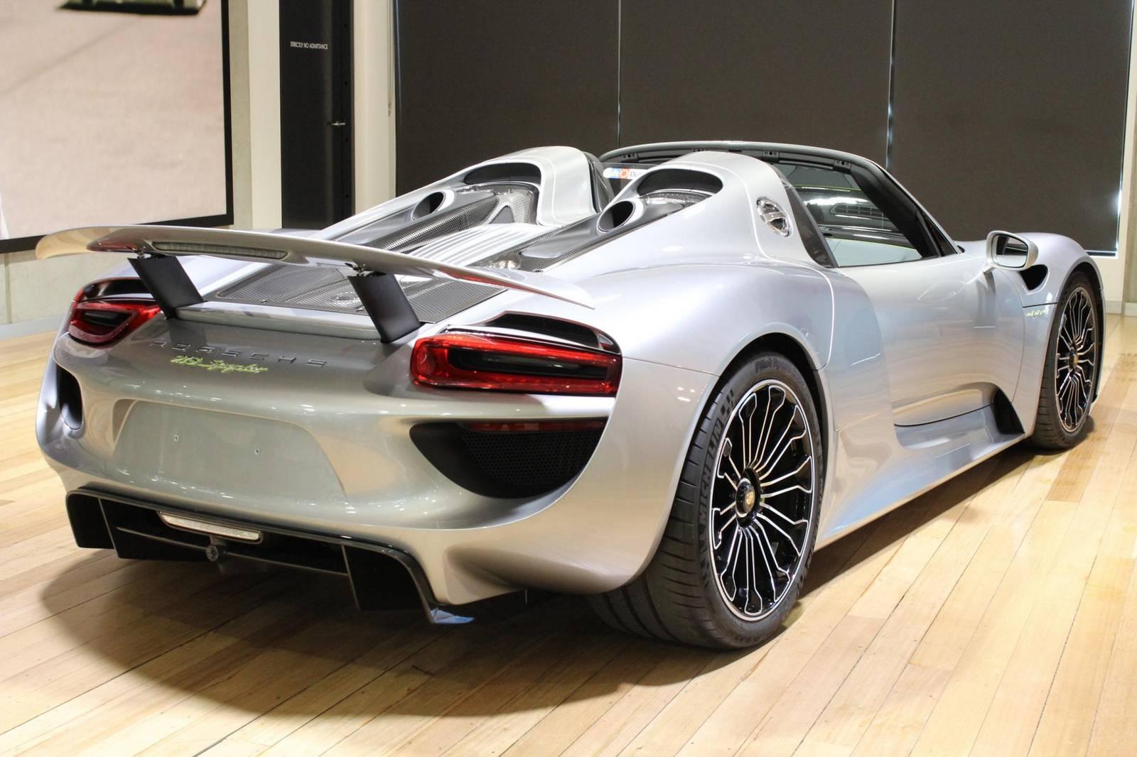 Porsche 918 Spyder For Sale >> Silver Porsche 918 Spyder For Sale in Australia - GTspirit