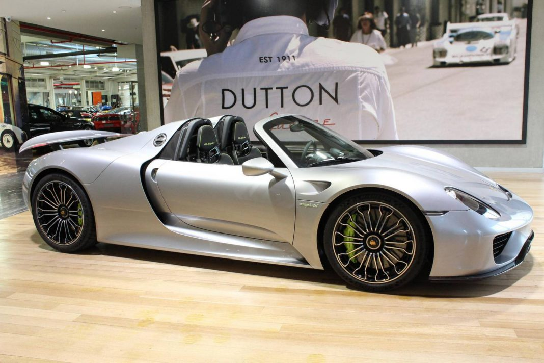 Porsche 918 Spyder for sale