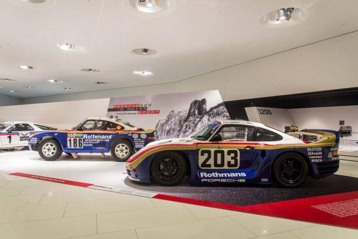 Porsche 959 Rally Car