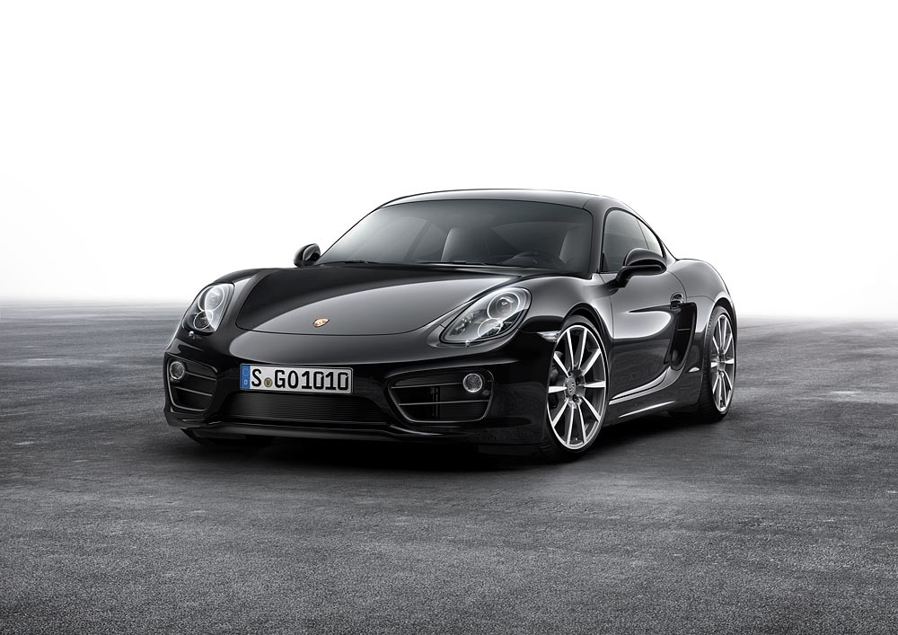 Porsche Cayman Black Edition revealed