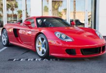 Porsche Carrera GT for sale front