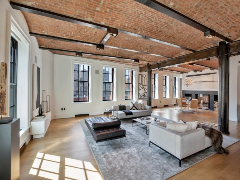 impressive 18 million new york city loft for sale gtspirit. Black Bedroom Furniture Sets. Home Design Ideas