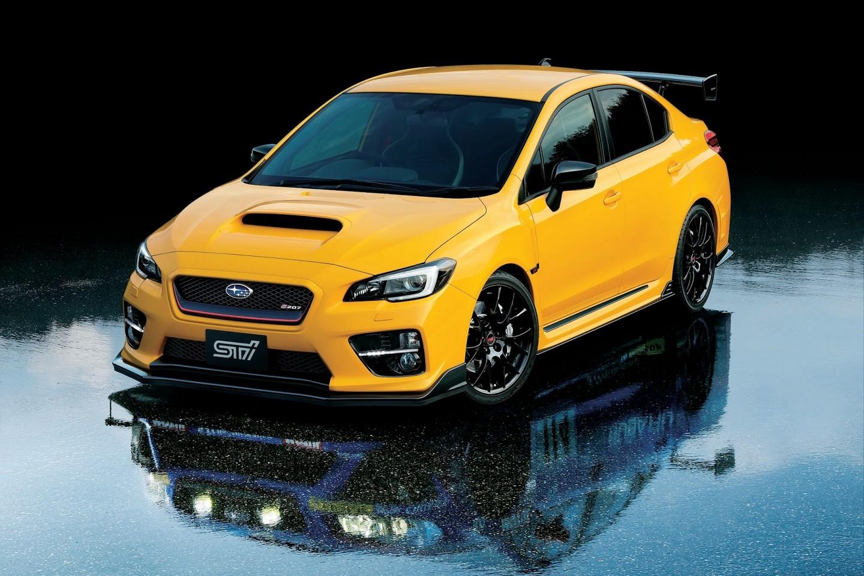 Subaru WRX STI S207 Special Limited Edition front