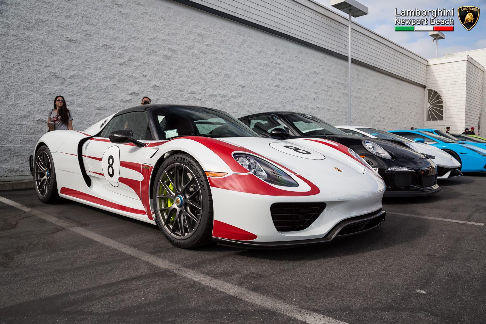 Porsche Newport Beach >> Lamborghini Newport Beach Supercar Show Gtspirit