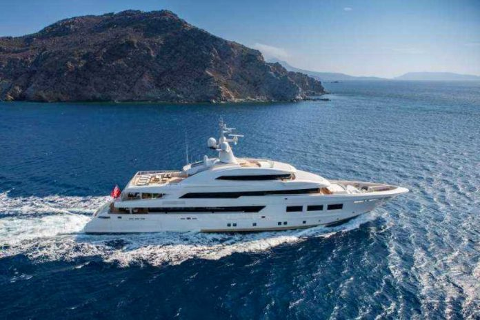 Superyacht Saramour by CRN Yachts