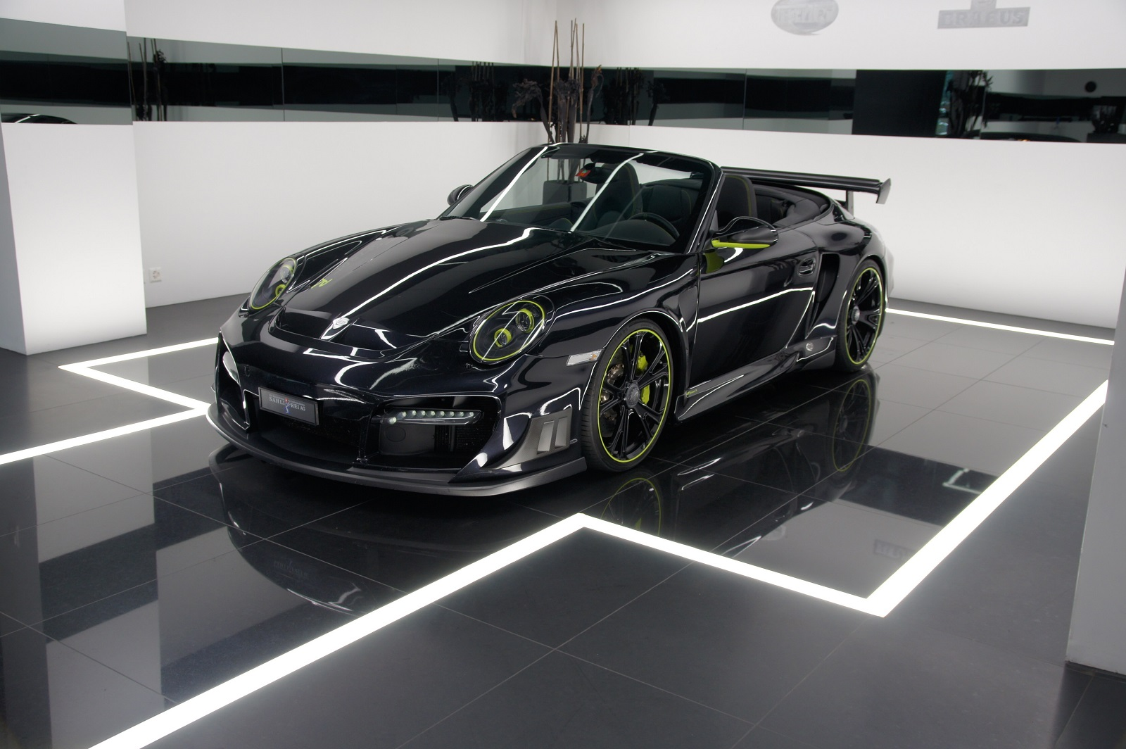 techart porsche 997 turbo cabriolet for sale gtspirit. Black Bedroom Furniture Sets. Home Design Ideas