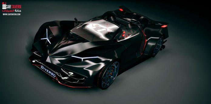 Lamborghini Diverso renderings front