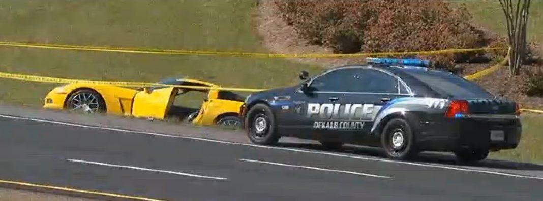Corvette Z06 road rage