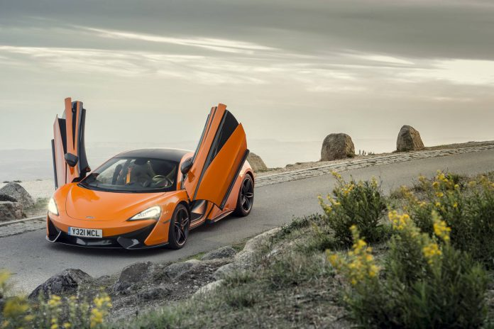 Ventura Orange McLaren 570S Coupe