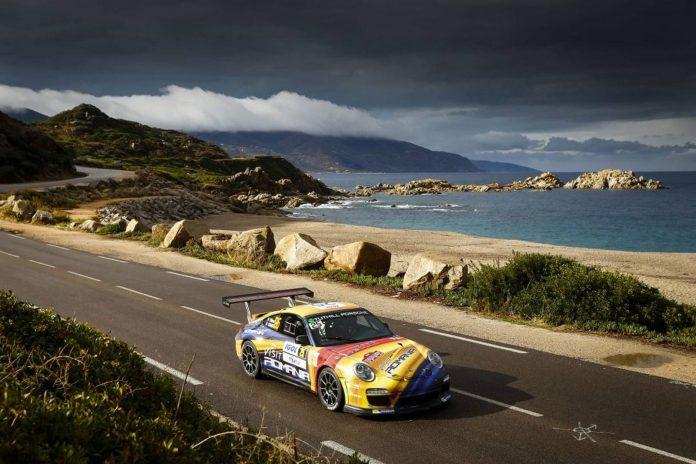 Porsche 911 GT3 Rally of France 2015