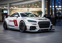 Audi TT Cup displayed