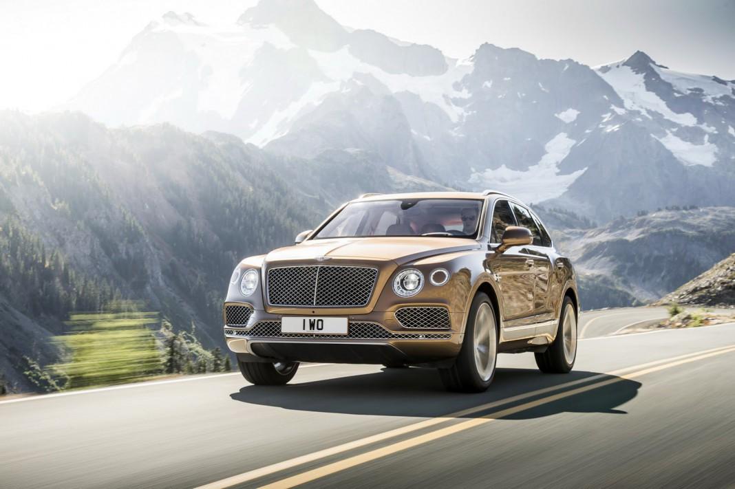 Bentley Bentayga getting diesel engine with e-turbos