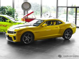 Carlex Design Chevrolet Camaro front