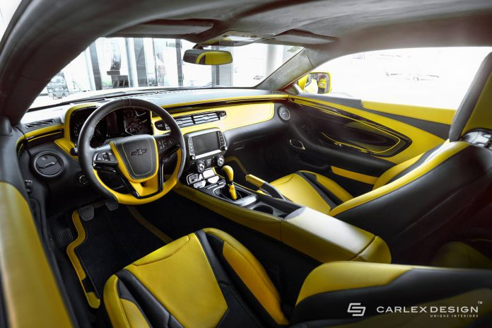 Carlex Design Chevrolet Camaro interior
