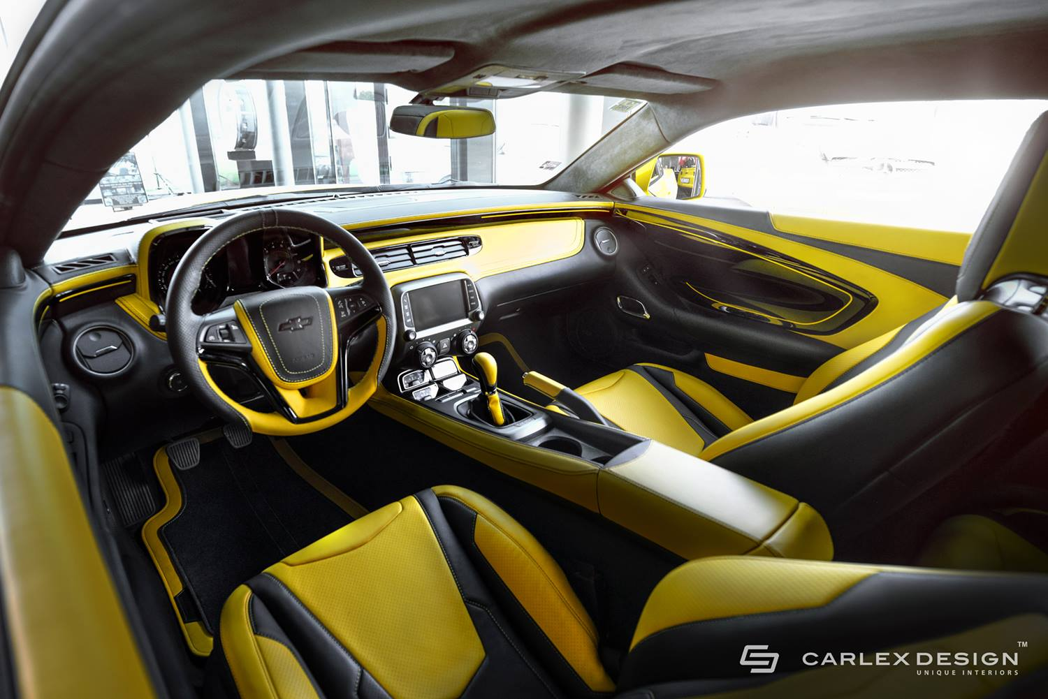 official chevrolet camaro by carlex design gtspirit. Black Bedroom Furniture Sets. Home Design Ideas
