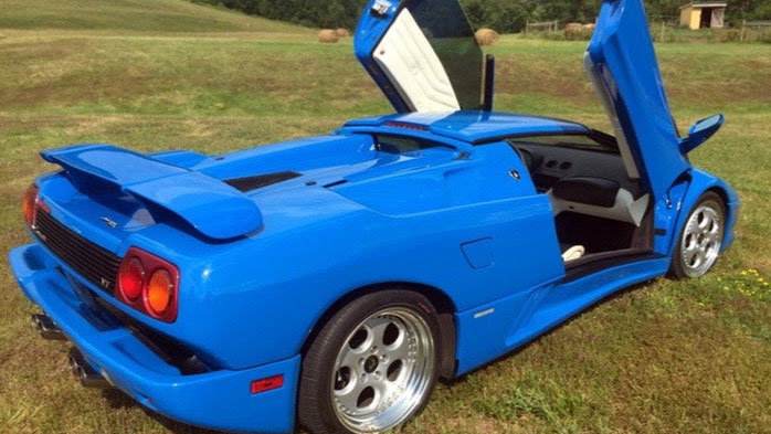 Donald Trump S Lamborghini Diablo For Sale Gtspirit