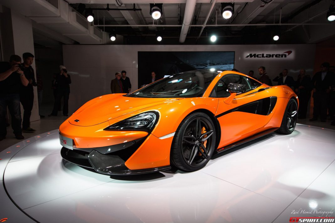 New McLaren 570S variant could be a Shooting Brake