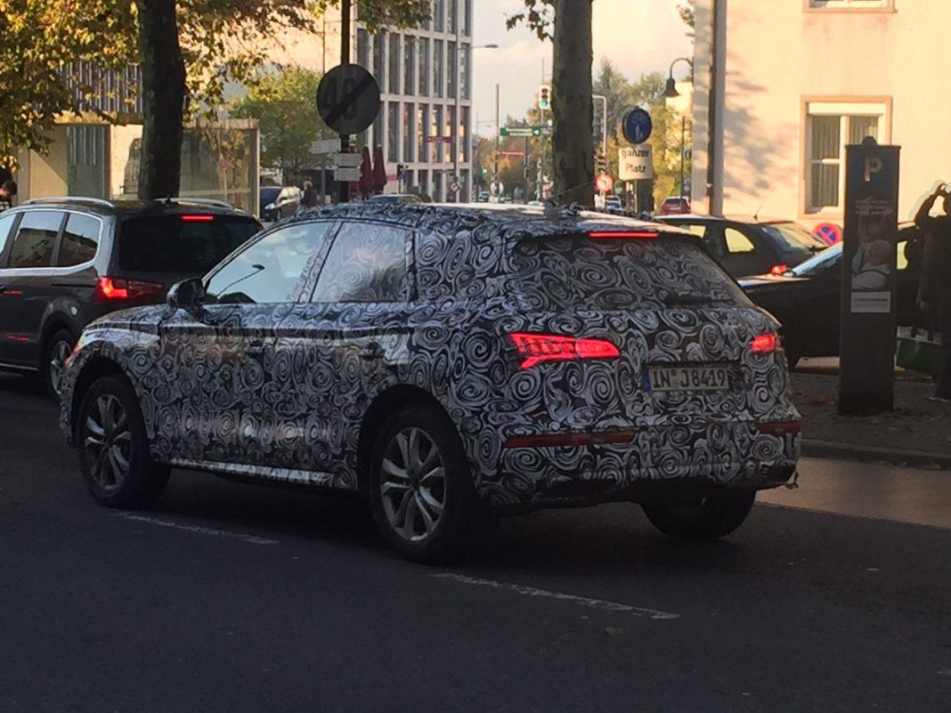 Next-gen Audi Q5 spied testing