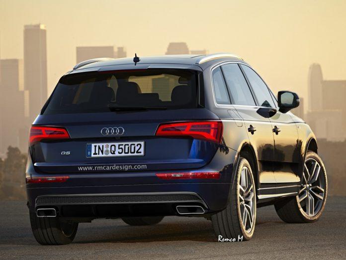 Next-generation Audi Q5 rear