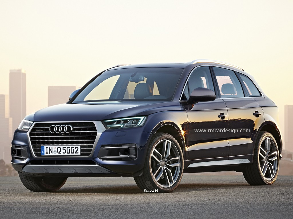Next-generation Audi Q5 front