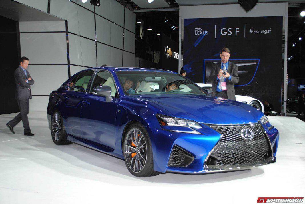Lexus GS F priced in the U.S.