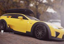 Lexus LFA Shooting Brake render